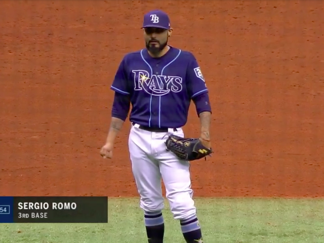 The Rays Put Their Closer In The Infield And It Worked