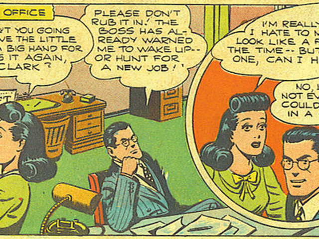A Reminder That Clark Kent and Lois Lane Used to Pretty Much Hate Each Other
