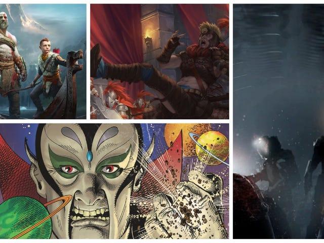 Daddy Kratos får ett kortspel, Mensa avslöjar årets vinnare och mer Tabletop Gaming News