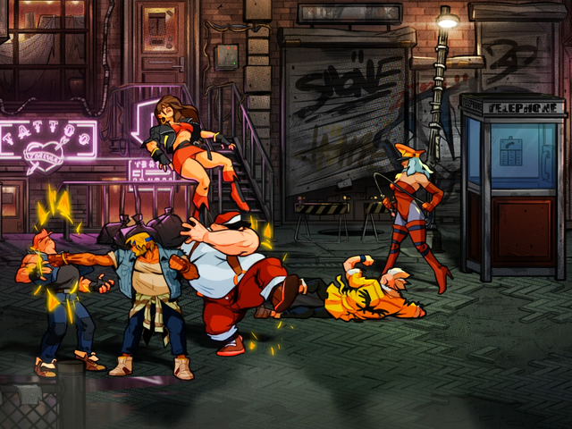 Smashing Punks Feels Great In Streets Of Rage 4