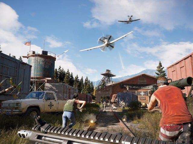 Far Cry 5 Players Have Already Made Some Decent Battle Royale Maps