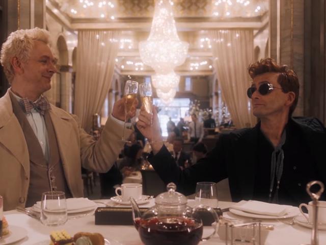 Trailer <i>Good Omens</i> Pertama Ada di Sini untuk Menyeret Anda ke Neraka
