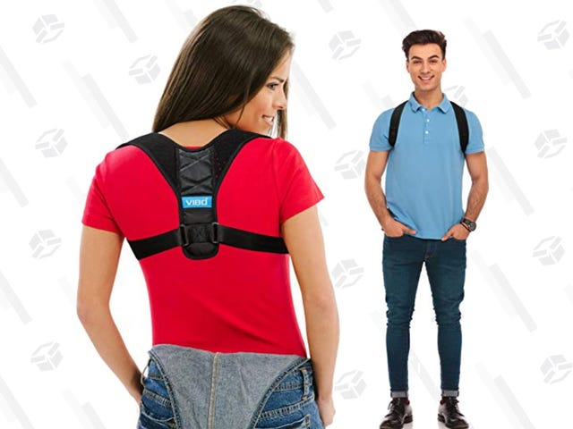 Finally Stand Up Straight When You Buy This $19 Posture Corrector
