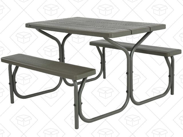 Put a Picnic Table In Your Backyard For $100