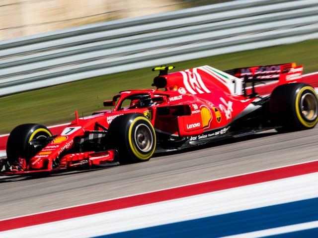 Kimi Raikkonen Wins First F1 Race in Five Years in Stunner of a U.S. Grand Prix