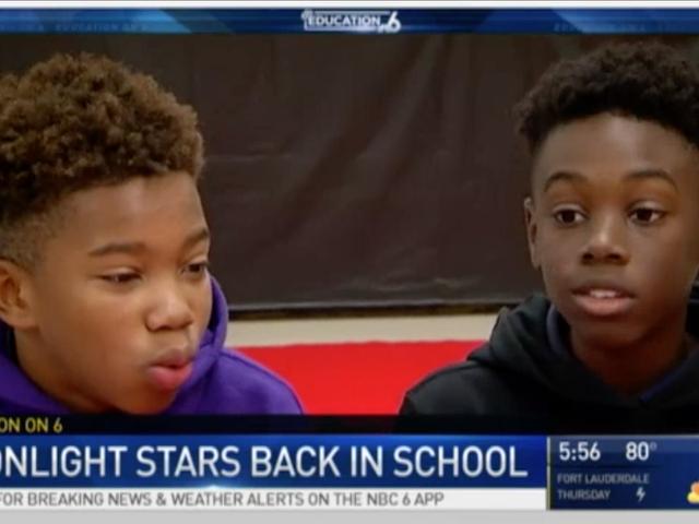 The Kids FromMoonlightWentBack to School As Oscar Stars