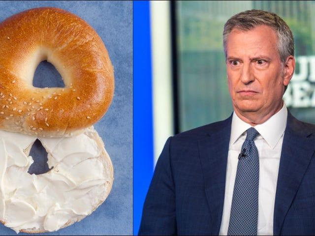 New Yorkers condemn Bill de Blasio's bagel lies