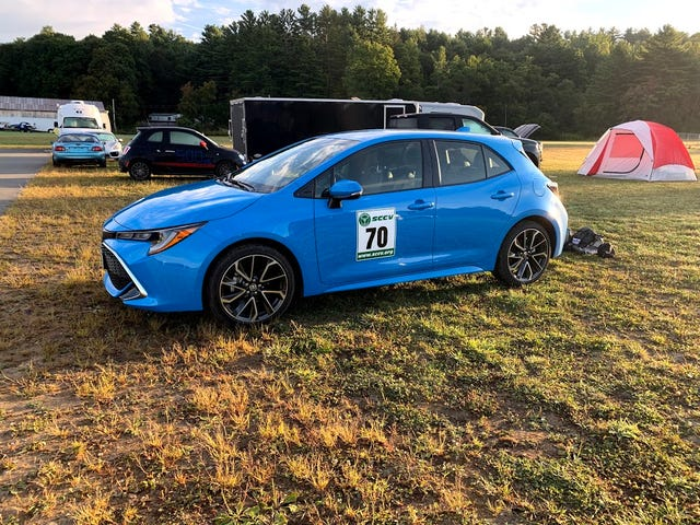 2019 Toyota Corolla Hatchback Trackcross Review