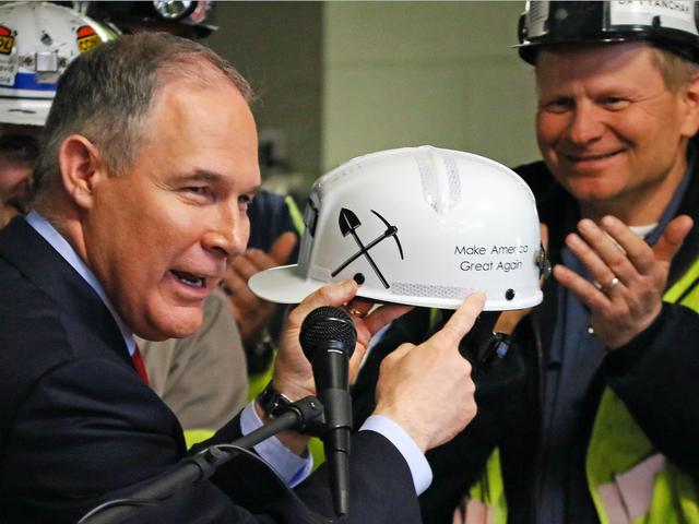 EPA Sacks радники контролюють наукову цілісність, але це добре, все добре