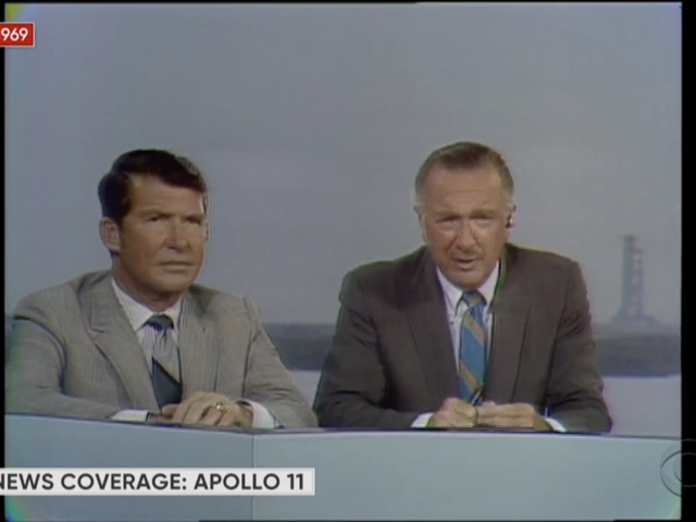 CBS News is Livestreaming the Original Apollo 11 Launch Broadcast in Real Time Right Now