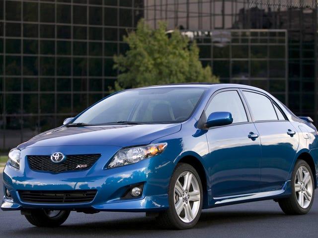Я хочу Toyota Corolla XRS