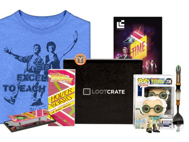 Save 30% On Loot Crate's Monthly Mystery Geek & Gamer Merch Boxes ($46)