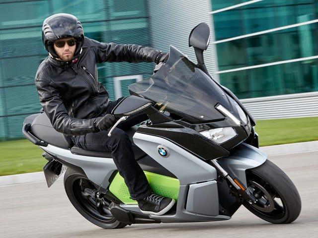 BMW Isn't Rushing To Make An Electric Motorcycle