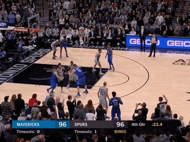 40 Yaşındaki Manu Ginobili Hala Burada NBA Oyunlarını Kazandı