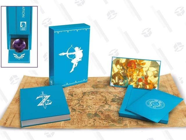 Preorder and Save $40 (or More) On The Hero's Edition of Breath of the Wild - Creating a Champion