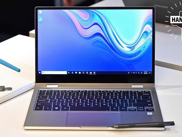 Samsung's Latest Laptops Want to Win You Over With Style