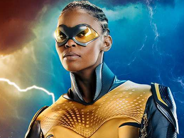 Here's Your First Look at Black Lightning's Superpowered Daughter, Thunder