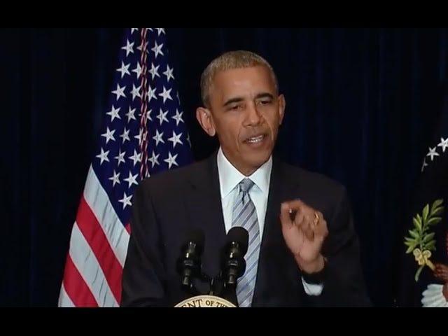 राष्ट्रपति ओबामा फिलांडो कास्टाइल और अल्टन स्टर्लिंग की मौतों को संबोधित करते हैं