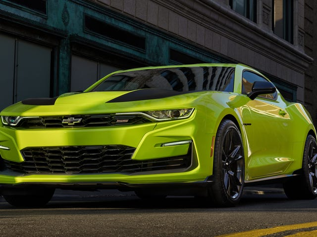 The 2019 Chevrolet Camaro Will Bring Life Back to Our Boring Streets inHighlighter Yellow