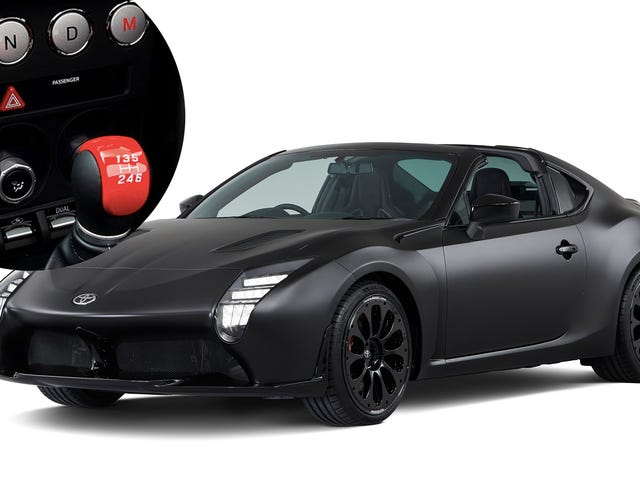 The Toyota GR HV Sports Concept Is A Hybrid 86 With Both An Automatic And A Stick Shift Together