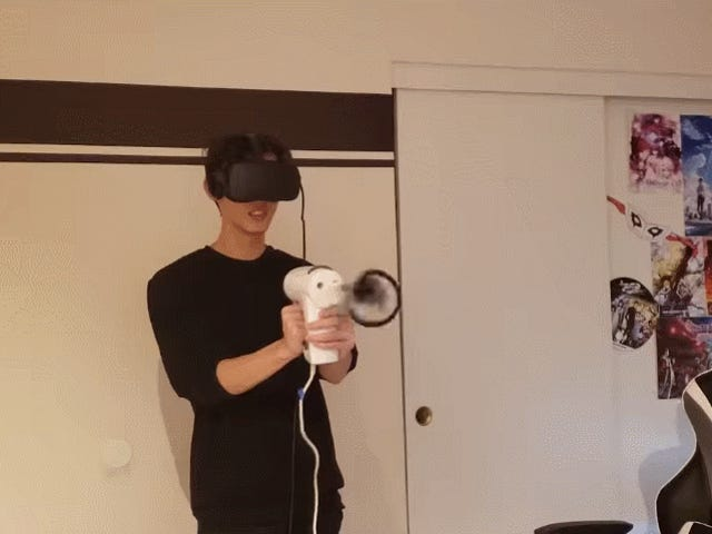 Watch Someone Destroy Beat Saber With A Hand Mixer