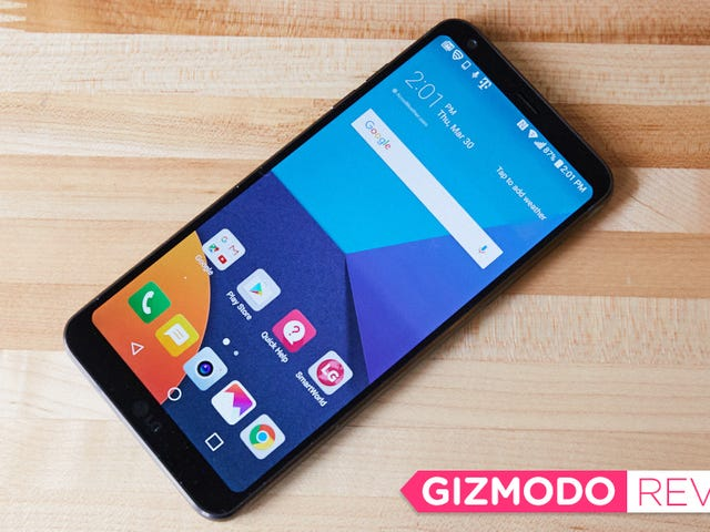 The LG G6 Is Too Damn Simple