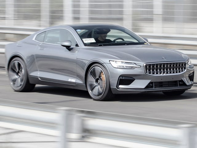 The 2020 Polestar 1 Hides Its Ridiculous Weight With a Surprisingly Simple Suspension Setup