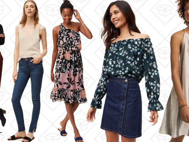 Reach New Sales Heights With Up to 60% Off Styles at LOFT