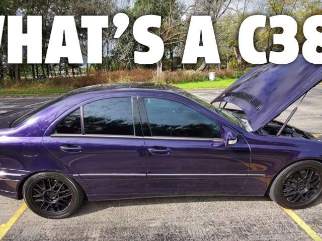 Este oscuro RENNTech Mercedes C38 fue un hallazgo de subasta de $ 1,000 realmente dulce