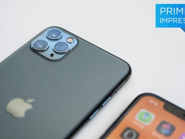 Cái nhìn đầu tiên về iPhone 11 Pro mới và camera ba của nó