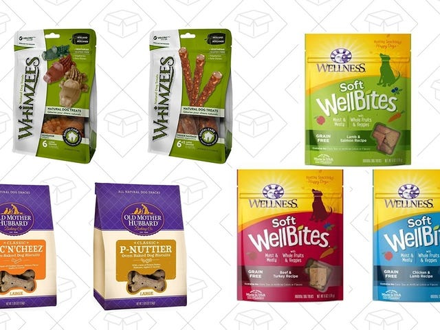 Wag Your Tail at 40% Off Dog Treat Bundles