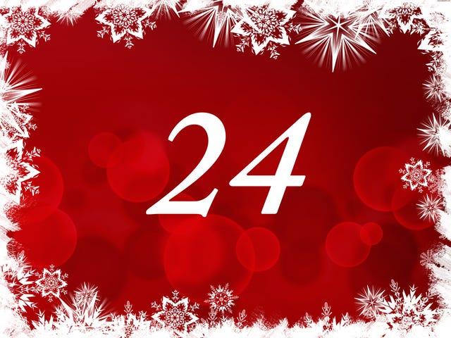 The TAY Advent Calendar: Day 24