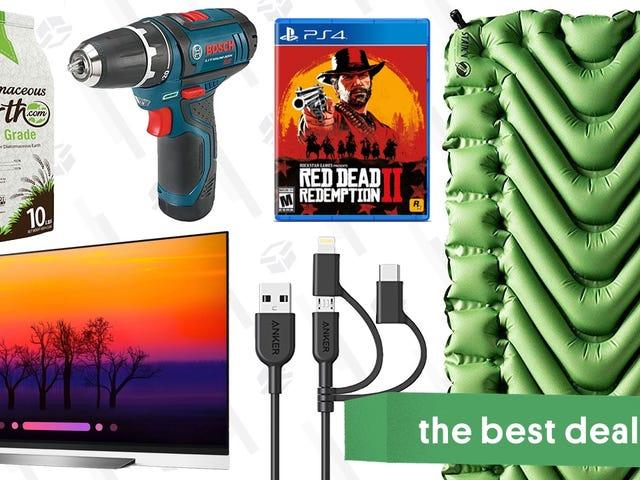 ข้อเสนอที่ดีที่สุดของวันอังคาร: Klymit Pads, Red Dead Bundle, ทีวี OLED และอีกมากมาย