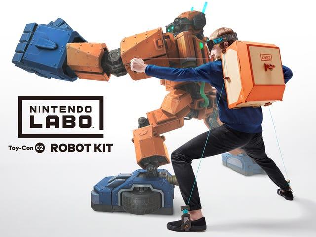 That Nintendo LaboRobot Game Looks Awfully Familiar
