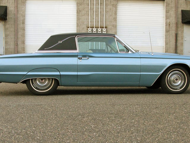 22 Year Love Affair With A Blue 1966 Ford Thunderbird