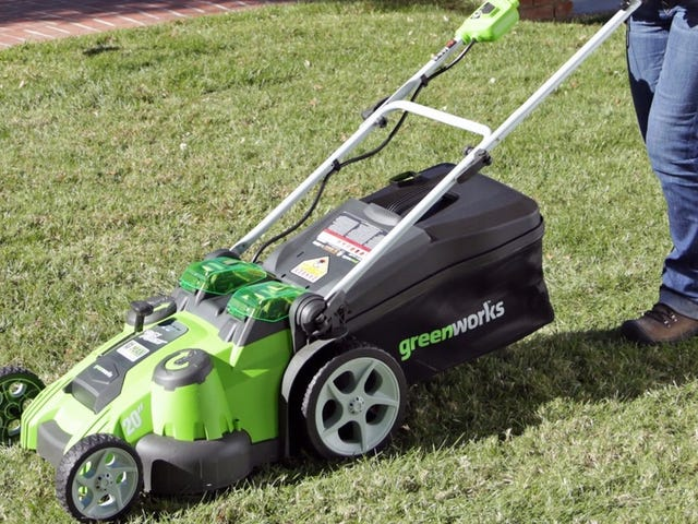 Go Green With Amazon's Top-Sellling Lawnmower, Now Trimmed To Its Lowest Price