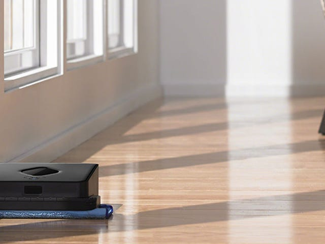 You've Got a Robotic Vacuum. Now, It's Time to Consider a Robotic Mop.