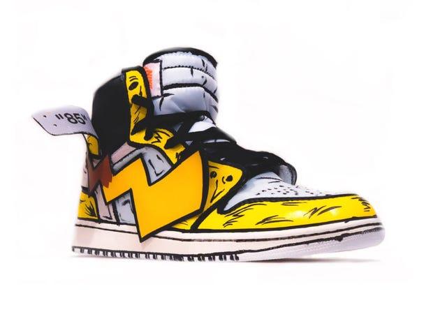 Titta på dessa Pikachu Air Jordans