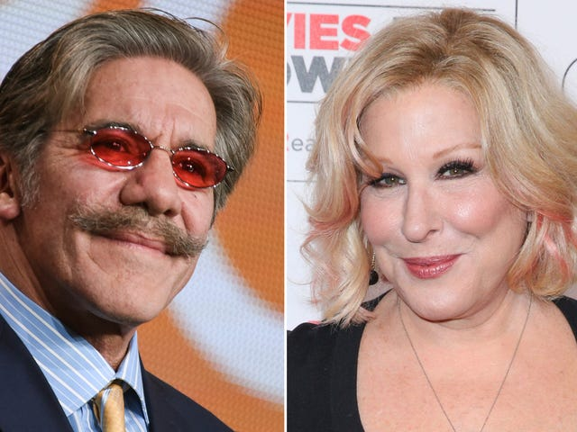 Bette Midler Suggests Geraldo Rivera Should Apologize for Alleged Sexual Assault
