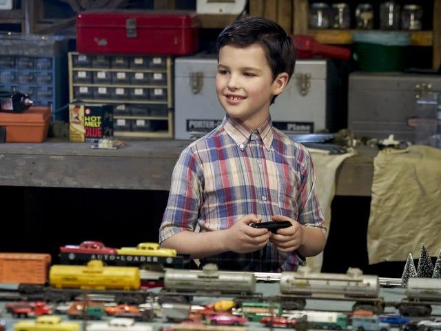 Wenn Sie jemals Young Sheldon verhaften lassen wollten, dann haben Sie Glück