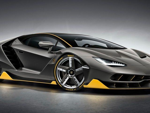 Lamborghini Recalls Its Special-Edition Centenario To Replace A Label
