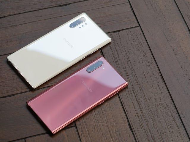 Dette er Samsung Galaxy Note 10, den første note til alle typer brugere