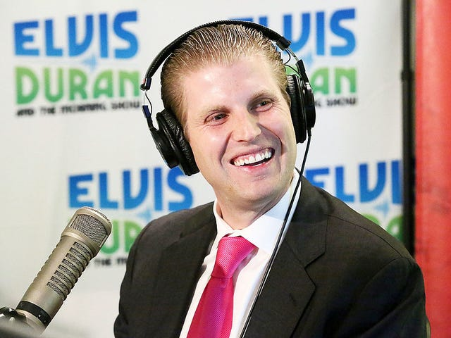 Eric 'Vampire Face' Trump: Dems Aren't Even People