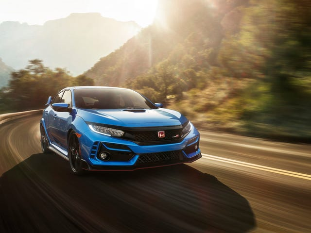 Honda Civic Type R 2020 kommer att få Fed-In Motor Buller