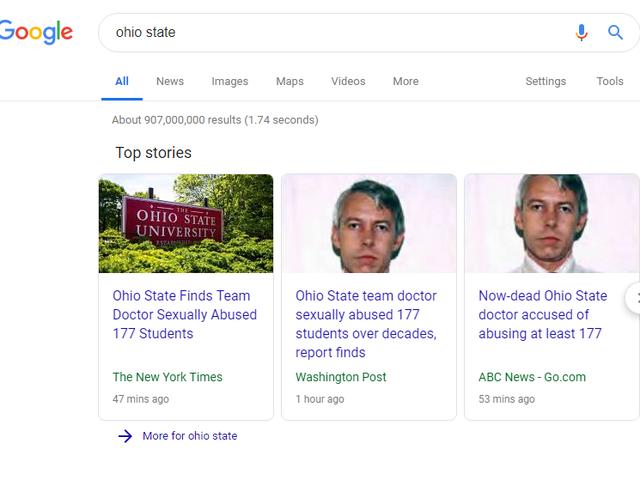 Отже, штат Огайо зараз.