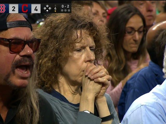Questo è il miglior fan di baseball