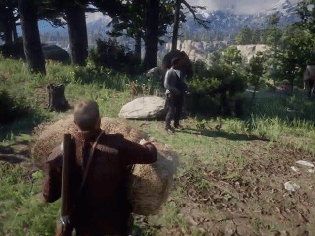 私は薪を削るのが好きです( <i>Red Dead Redemption 2</i> )