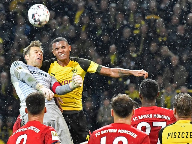 Borussia Dortmund Defender Manuel Akanji Is The King Of Quick Maths