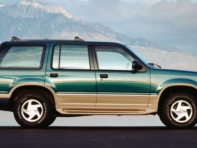 Sekiranya SUV tahun 1990-an hendak menjadi koleksi panas, saya mengalu-alukan hari Eddie Bauer Edition F