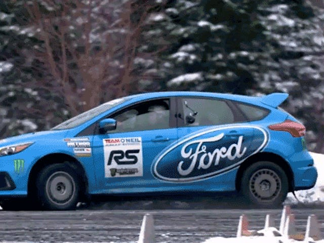 The Ford Focus RS' Drift Mode Is Actually Way Faster Than You'd Expect
